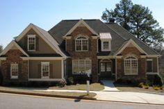Traditional Exterior - Front Elevation Plan #437-38 - Houseplans.com