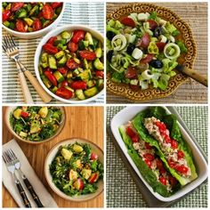 90 Healthy No-Heat Lunches for Taking to Work found on KalynsKitchen.com