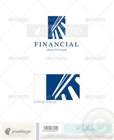 Business & Finance  642 Logo Design Template Vector #logotype Download it here:  http://graphicriver.net/item/business-finance-logo-642/497548?s_rank=46?ref=nesto