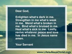 Lovely prayer