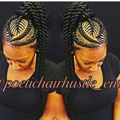 2018 African Braids Hairstyles Beautiful Braids Styles