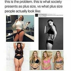 This is the problem. this is what society presents as plus size. vs what plus size people actually look like - iFunny :) Lgbt, Look Here, Intersectional Feminism, Patriarchy, Equal Rights, Faith In Humanity, Social Justice, Human Rights, Equality