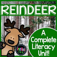 Winter Animal Non-Fiction ReadingReindeer / Caribou Common Core Non-Fiction Unit was created as a Common Core aligned non-fiction unit. There are activities for reading and understanding non-fiction text, informational writing based on understanding and comparing non-fiction text.