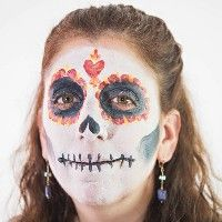 NEW! Sugar Skull - Halloween & HorrorFace Paint Ideas - How to Face Paint | Snazaroo