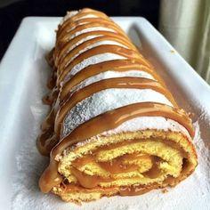 Biscuit roulé au caramel beurre salée - Pause Gourmande