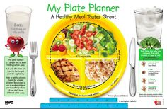 Kids Plate - Nutrition for Children - Healthy Meal Portion Plate - Healthy Meal Planning Ideas - Nutrition - Professional Spiritual Adviser & Intuitive Health Coach with Over 15 Years Expertise - Get Healthy Nutritional Tips and Spiritual Insights at the link.