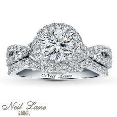 Jared - Neil Lane Bridal Setting 3/4 ct tw Diamonds 14K White Gold