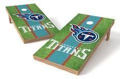 Tennessee Titans Single Cornhole Board - Field