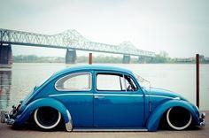 A slightly pimped VW beetle