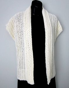 Ravelry: Palm Beach Shrug pattern by Carol Wolf, Wolf Crochet