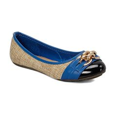 Love this Tory Klein Light Beige & Royal Blue Clasp Flat by Tory Klein on Electric Blue Shoes, Beige Flats, Vintage Trends, Vegan Shoes, Light Beige, Royal Blue, Shoe Bag, My Style, Women