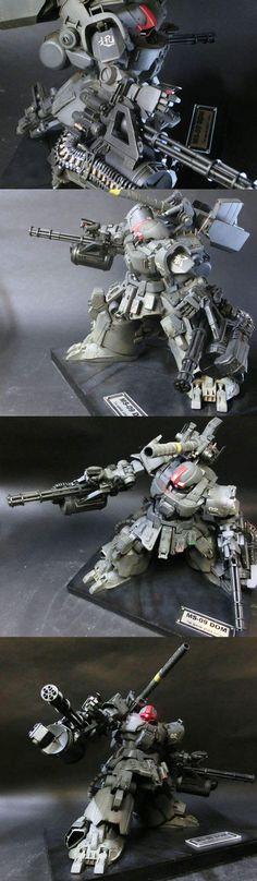 鋼彈立於大地!日本玩家TIS製作的超威薩克