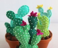 Felt Cactus DIY More