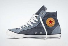 Converse Chuck Taylor All-Star Hi Chambray - The Shoe Buff - Mens Contemporary Shoes and Footwear