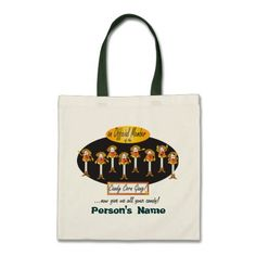 $11.95 Candy Corn Gang #Treat #Bag #illustration #Halloween #zazzlebesties #zazzle #PinPicks