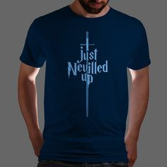 Neville T-shirt from  geekymerch:    (via Qwertee: Limited Edition Cheap Daily T Shirts   Gone in 24 Hours   T-shirt Only £8/€10   Cool Graphic Funny Tee Shirts)