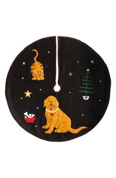 New World Arts Dog & Cat Tree Skirt