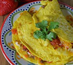An omelette breakfast is a family favorite. How to make Tex-Mex omelettes using tenderloin tips, vegetables, and cheeses. Breakfast just got tastier than ever. Breakfast Crockpot Recipes, Vegetarian Breakfast Recipes, Brunch Recipes, Mexican Food Recipes, Asian Recipes, Brunch Foods, Breakfast Omelette, Omelette Recipe, Vegan