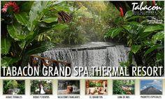 Tabacon Grand Spa Thermal Resort, Costa Rica.