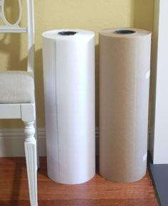 lifetime supply of wrapping paper- white butcher paper, kraft paper + more @uline