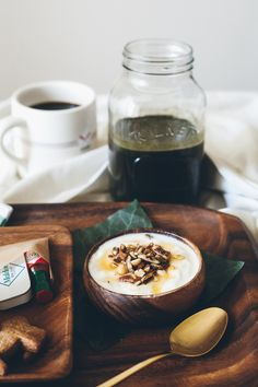 Perfect breakfast in bed - or made and taken _back_ to eat in bed - lh