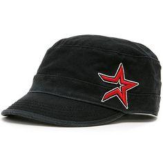 Houston Astros Crystal Military Women's Cap
