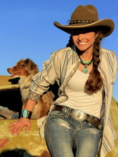 ❤ Cowgirls Fashions Western Style Country...