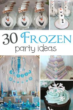 30 Frozen Party Ideas - Pretty My Party