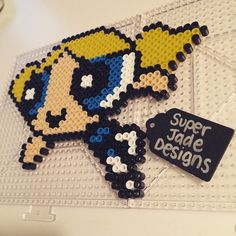 PPG Bubbles perler beads by SuperJade Designs