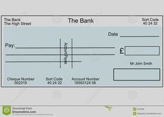 Blank Cheque Template Download Free - Falep.midnightpig.co for Large Blank Cheque Template Cheque, Layout Template, Psd Templates, Design Templates, Word Wide Web, Printable Checks, Blank Check, Uplifting News
