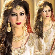 Punjabi pearl studded jewellery