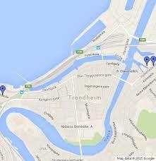 Trondheim City - Map