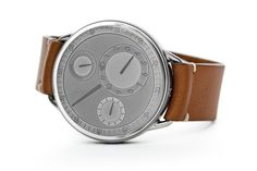 Ressence, the horological startup, has released a limited edition run of their Type 1 timepiece to commemorate their fifth anniversary. The Type 1 V Genesis will be released in a run of only five pieces. Each watch will contain parts taken directly off the production line, presenting a design philosophy that promises a cleargraphic aesthetic for the 21stCentury.