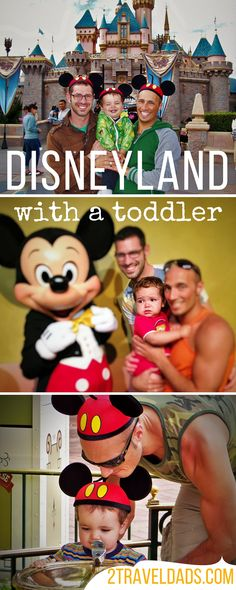 People think that Disneyland with a toddler is a bad idea, but it's not! It's still an awesome family travel experience and worth it! 2traveldads.com