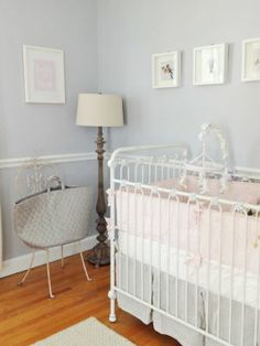 Relaxed yet stylish: Shabby chic nursery decor | #BabyCenterBlog #ProjectNursery