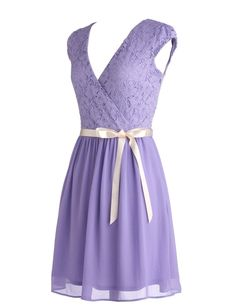 Amazon.com: Dressystar Short V neck Bridesmaid Party Dress Gown with Sash: Clothing