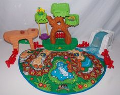 Fisher Price Little People A to Z Learning Zoo Play Mat #FisherPrice