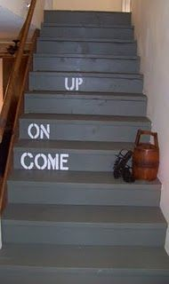 Painted Stairs- The BIG REVEAL!!!