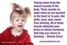 Check out my latest blog for how to do some constructive whining  http://soundwellness.com/whining/  From Sharon Carne