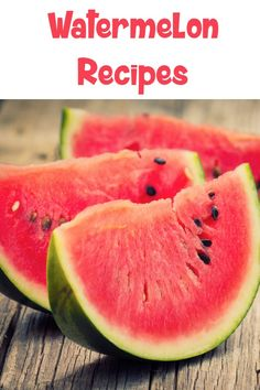 Watermelon Recipes - Refreshing and fun recipes to enjoy your watermelon this summer!