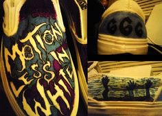 free shipping 64690 ef998 Inspired by the band Motionless In White. Motionless In White Shoes
