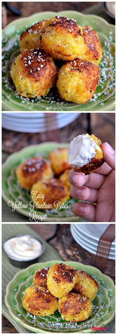 This Easy Yellow Plantain Bites Recipe is so tasty and so good, perfect for a quick snack or as part of your dinner. (AD) Get the recipe at CleverlyMe.com