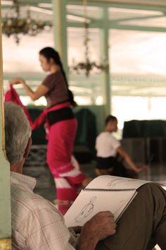 """Drawing Dance"" at Istana Mangkunegaran Surakarta"
