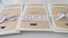 Jotain Sinistä - hääblogi: Hääkutsut osa II Place Cards, Place Card Holders, Wedding, Valentines Day Weddings, Weddings, Mariage, Marriage, Chartreuse Wedding