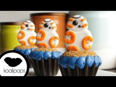 BB-8 Cupcakes | Star Wars: The Force AWAKENS | How To - YouTube