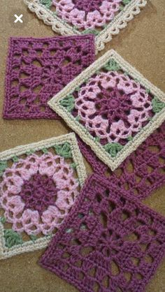 Transcendent Crochet a Solid Granny Square Ideas. Inconceivable Crochet a Solid Granny Square Ideas. Motifs Granny Square, Granny Square Crochet Pattern, Crochet Blocks, Crochet Flower Patterns, Crochet Squares, Crochet Blanket Patterns, Crochet Motif, Crochet Designs, Knitting Patterns