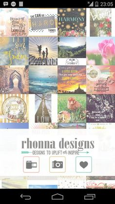 Rhonna Design Photo Editor – Tambahkan texture dengan tulisan cantik di foto http://www.aplikanologi.com/?p=24736