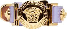 Versace - Lilac Medusa Medallion Bracelet