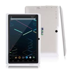 "computers: iRULU Tablet PC New 7"" WiFi Google Android 4.4 Quad Core Dual Camera 8GB White #Computer - iRULU Tablet PC New 7"" WiFi Google Android 4.4 Quad Core Dual Camera 8GB White..."