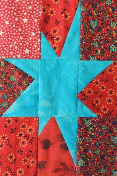 Our lotto block for August is a rectangular adaptation of Bonnie Hunter's Maverick Star. We'll be using her block pattern with one small change (described further down this post): Mave… Modern Quilt Blocks, Star Quilt Blocks, Star Quilt Patterns, Star Quilts, Scrappy Quilts, Mini Quilts, Pattern Blocks, Canvas Patterns, Quilt Of Valor